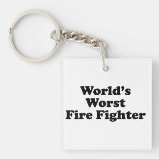 El bombero peor del mundo llaveros