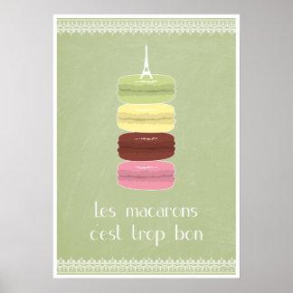 El bon más c'est del trop de los macarons de Les Póster