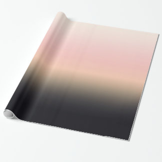 El bonito aherrumbró negro para picar la pendiente papel de regalo