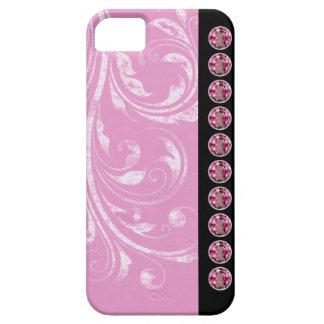 El bonito Jeweled los casos del iPhone iPhone 5 Carcasas