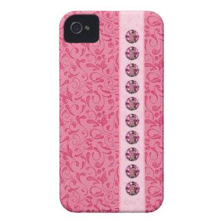 El bonito Jeweled los casos del iPhone iPhone 4 Case-Mate Carcasas
