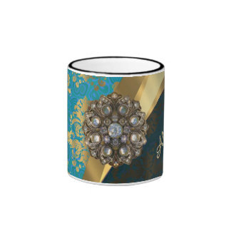 El bonito personalizó el modelo femenino del taza a dos colores