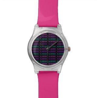 El bonito Tri Coloreó Alabama Reloj