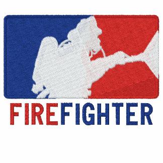 El bordado del personalizado del bombero camiseta polo bordada