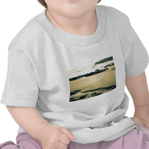 El borde de la arena camiseta