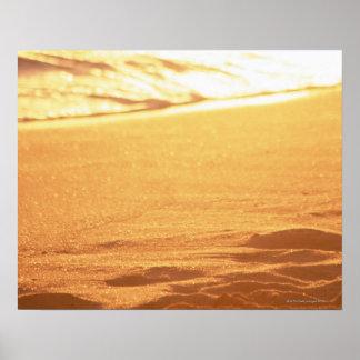 El borde del agua (tarde) 3 impresiones