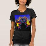 El borde del fractal: camiseta