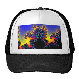 El borde del fractal: gorros bordados