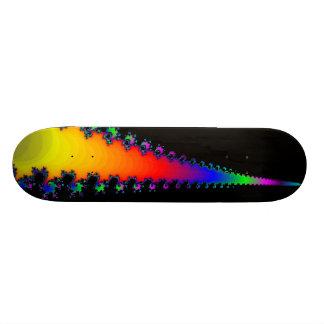 El borde del fractal: Monopatín de encargo Tabla De Skate