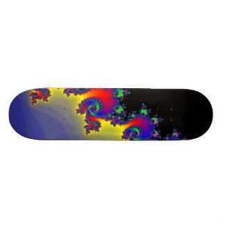 El borde del fractal: Monopatín de encargo Tablas De Skate