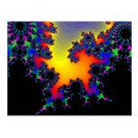El borde del fractal: postal