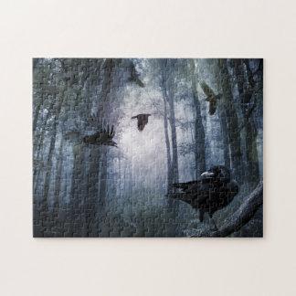 El bosque brumoso canta rompecabezas