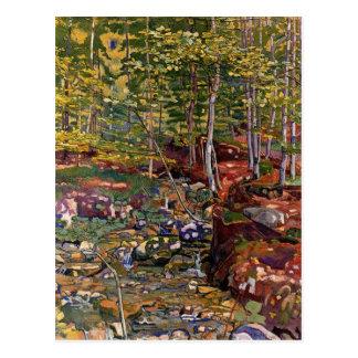 El bosque cerca de Reichenbach Postal