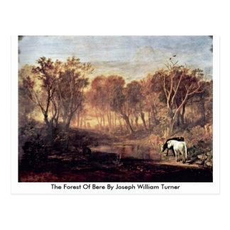 El bosque de la cebada de José Guillermo Turner Postal