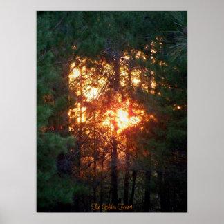 El bosque de oro impresiones