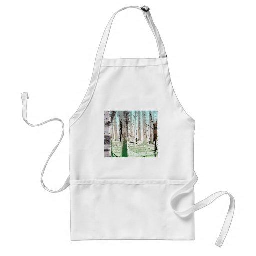 El bosque del abedul delantal