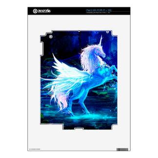 El bosque del unicornio protagoniza el azul de iPad 2 calcomanía