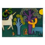 EL Bosque Magico de Lucas 2009 Tarjeta De Felicitación