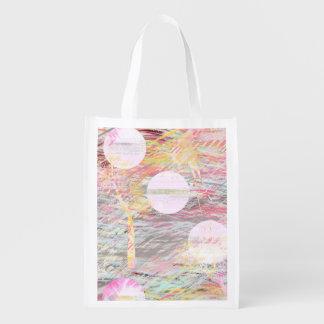 El bosque rosado soña el bolso de ultramarinos bolsa de la compra
