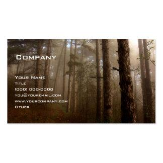 El bosque plantilla de tarjeta de negocio