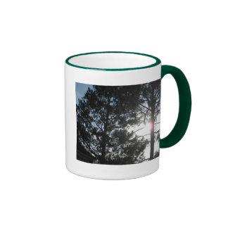 El bosque taza a dos colores