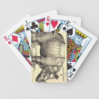 El bosquejar de Albrecht Durer Baraja Cartas De Poker