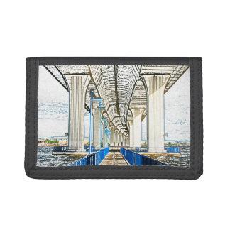 el bosquejo del puente jensen la playa