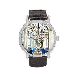 el bosquejo del puente jensen la playa relojes de mano