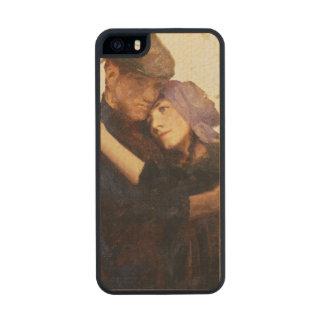 """El bosquejo para """"Betrothed"""" (el aceite en lona) Funda De Arce Carved® Para iPhone 5 Slim"""