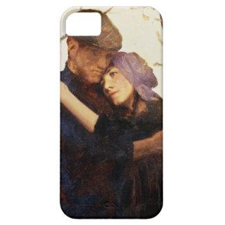 """El bosquejo para """"Betrothed"""" (el aceite en lona) iPhone 5 Funda"""
