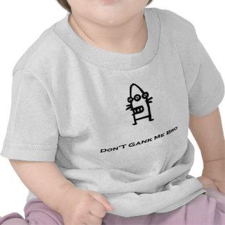 El Bot de tres ojos no hace Gank yo negro de Bro Camiseta