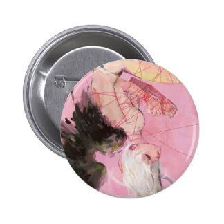 El botón caido pin redondo de 2 pulgadas