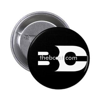 El botón de Avatar del logotipo del B-Molde Pin Redondo De 2 Pulgadas