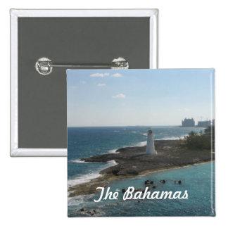 El botón de Bahamas Pin