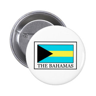 El botón de Bahamas Pin Redondo De 2 Pulgadas
