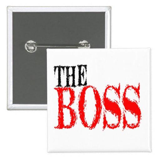 El botón de Boss Pin