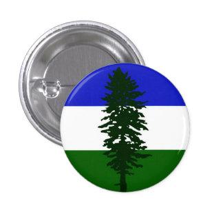 El botón de Doug (pequeño) Pin Redondo De 1 Pulgada