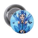 """"""""""" El botón de hadas azul Pins"""