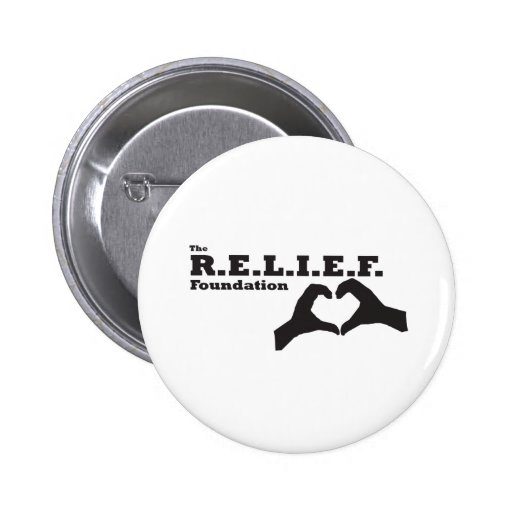 El botón de la fundación del alivio