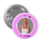 El botón de la graduación añade rosa de la foto 3 pin