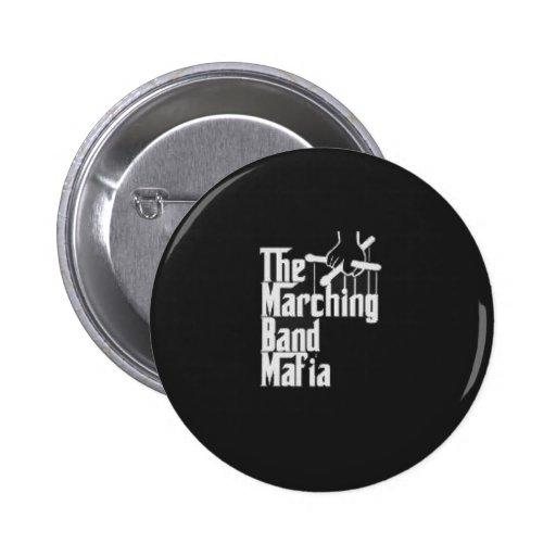 El botón de la mafia de la banda pin