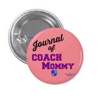 El botón de la mamá del coche pin redondo de 1 pulgada