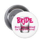 El botón de la novia pins