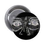 El botón de los ojos pin