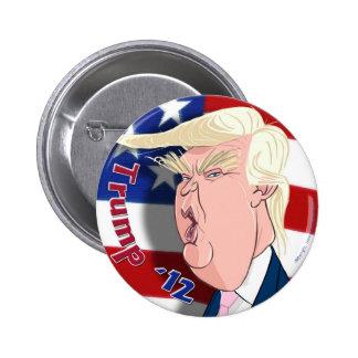 El botón del colector del dibujo animado de Donald Pin