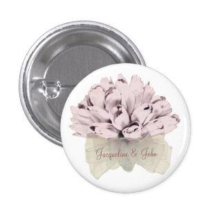El botón del ~ del boda pins