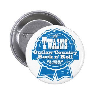 ¡El botón del drinkin de la cerveza de TWAINS!