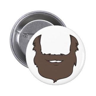 El botón del hombre sabio pin redondo de 2 pulgadas