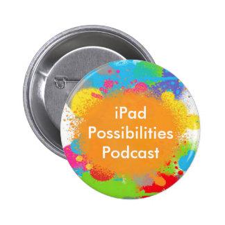 El botón del IPP del funcionario Pin Redondo De 2 Pulgadas