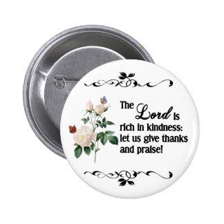 El botón del personalizado de señor Is Rich In Kin Pin